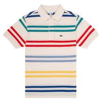 Îmbracaminte Băieți Tricou Polo mânecă scurtă Lacoste HENRI Multicolor