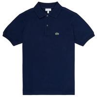 Îmbracaminte Băieți Tricou Polo mânecă scurtă Lacoste LOLLA Bleumarin