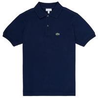 Îmbracaminte Băieți Tricou Polo mânecă scurtă Lacoste CYRINNE Bleumarin