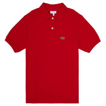 Îmbracaminte Băieți Tricou Polo mânecă scurtă Lacoste ANAICK Roșu