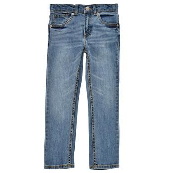 Îmbracaminte Băieți Jeans skinny Levi's 511 SKINNY FIT Albastru / Medium