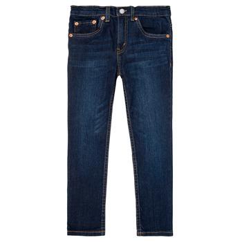 Îmbracaminte Băieți Jeans slim Levi's 512 SLIM TAPER Albastru