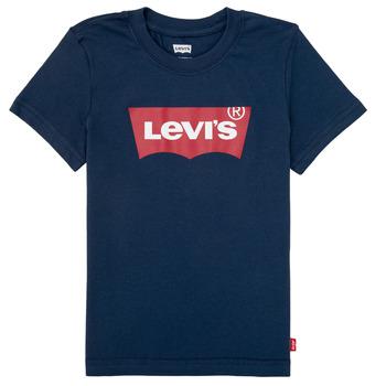 Îmbracaminte Băieți Tricouri mânecă scurtă Levi's BATWING TEE Albastru