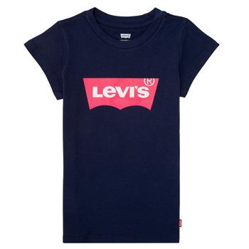 Îmbracaminte Fete Tricouri mânecă scurtă Levi's BATWING TEE Albastru