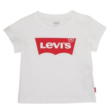 Îmbracaminte Băieți Tricouri mânecă scurtă Levi's BATWING TEE Alb