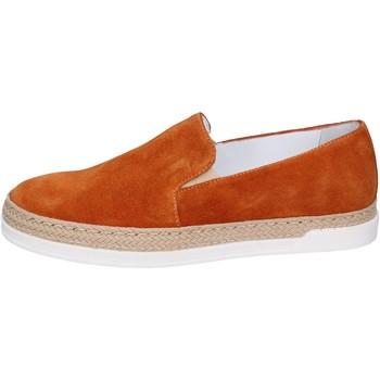 Pantofi Femei Pantofi Slip on Bouvy slip on camoscio Marrone