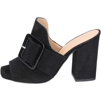 Pantofi Femei Papuci de vară Broccoli BP304 Negru