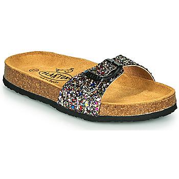 Pantofi Fete Papuci de vară Plakton BOM Multicolor