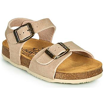 Pantofi Copii Sandale și Sandale cu talpă  joasă Plakton LOUIS Bej