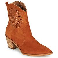 Pantofi Femei Botine Fericelli MEYLIA Coniac