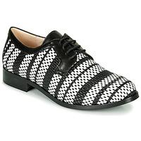 Pantofi Femei Pantofi Derby Fericelli MILEYNE Negru / And / Alb