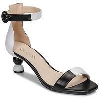 Pantofi Femei Sandale  Fericelli MARC Negru / And / Alb