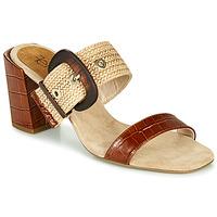 Pantofi Femei Papuci de vară Fericelli MARCO Bej