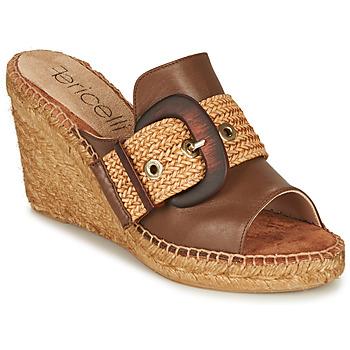 Pantofi Femei Papuci de vară Fericelli MELISSA Coniac