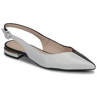 Pantofi Femei Balerin și Balerini cu curea Fericelli MANU Negru / And / Alb