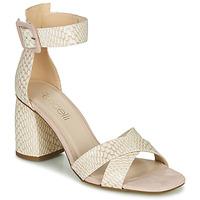 Pantofi Femei Sandale  Fericelli JEZI Alb / Roz