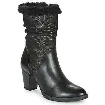 Pantofi Femei Cizme casual Caprice LOTIMA Negru