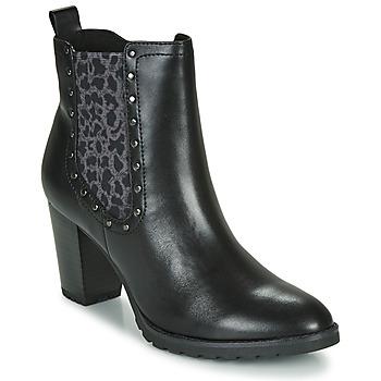 Pantofi Femei Botine Caprice LUTIMA Negru