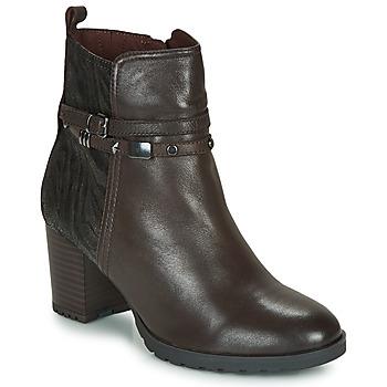 Pantofi Femei Botine Caprice LUNITONE Maro