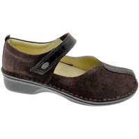 Pantofi Femei Balerin și Balerini cu curea Calzaturificio Loren LOM2749bo nero