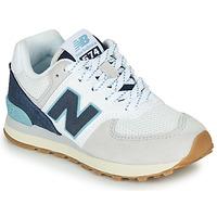 Pantofi Pantofi sport Casual New Balance GC574SOU Alb / Albastru