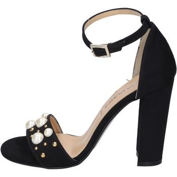 Pantofi Femei Sandale  Olga Rubini sandali camoscio sintetico borchie Nero