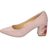 Pantofi Femei Pantofi cu toc Olga Rubini Decolteu BP375 Roz