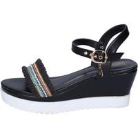 Pantofi Femei Sandale  Enrico Coveri Sandale BP389 Negru