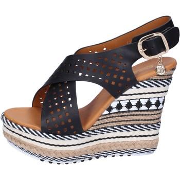 Pantofi Femei Sandale  Enrico Coveri Sandale BP391 Negru