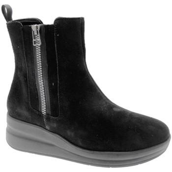 Pantofi Femei Ghete Melluso MWR25611ne nero