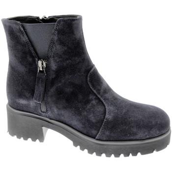 Pantofi Femei Ghete Soffice Sogno SOSO9823bl blu