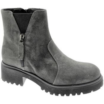 Pantofi Femei Ghete Soffice Sogno SOSO9823gr grigio