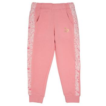 Îmbracaminte Fete Pantaloni de trening Puma MONSTER SWEAT PANT GIRL Roz
