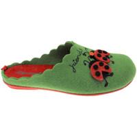 Pantofi Femei Papuci de casă Riposella RIP4575ve verde