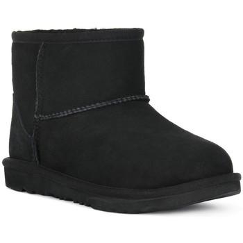 Pantofi Fete Botine UGG MINI CLASSIC II BLK Nero
