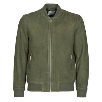 Îmbracaminte Bărbați Jachete din piele și material sintetic Selected SLHB01 Kaki