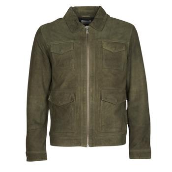 Îmbracaminte Bărbați Jachete din piele și material sintetic Selected SLHRALF Kaki