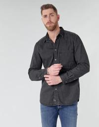 Îmbracaminte Bărbați Cămăsi mânecă lungă Diesel D-BER-P Negru