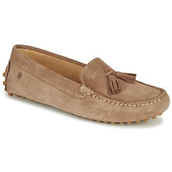 Pantofi Femei Mocasini Casual Attitude JALAYALE Taupe