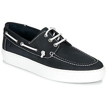 Pantofi Bărbați Pantofi barcă Casual Attitude MILIA Bleumarin / Alb