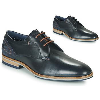Pantofi Bărbați Pantofi Derby Casual Attitude MORANI Negru