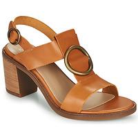 Pantofi Femei Sandale  Casual Attitude MELINA Camel