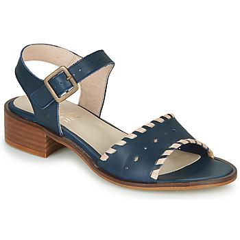 Pantofi Femei Sandale  Casual Attitude RINEILUE Negru / Argintiu
