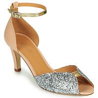 Pantofi Femei Sandale  Emma Go JOLENE GLITTER Roz / Argintiu / Auriu