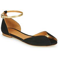 Pantofi Femei Sandale  Emma Go JULIETTE Negru / Auriu