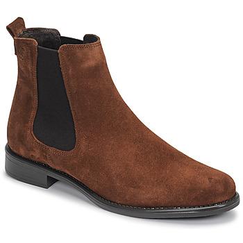Pantofi Femei Ghete Betty London NORA Bleumarin / Maro-scoarță