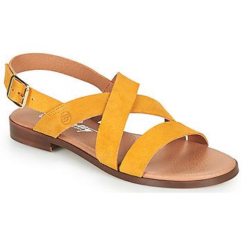 Pantofi Femei Sandale  Betty London MADISSON Galben