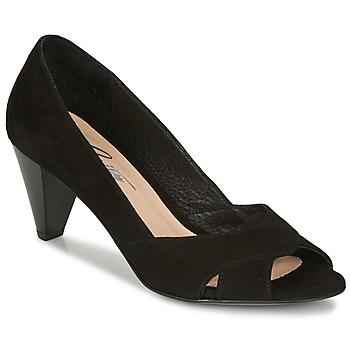 Pantofi Femei Pantofi cu toc Betty London MIRETTE Negru / Suede