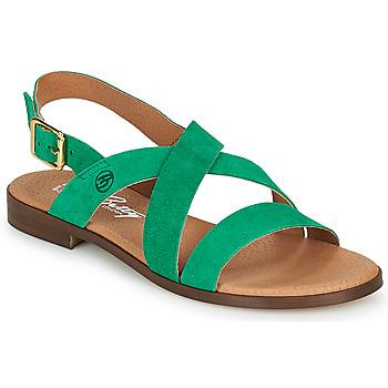 Pantofi Femei Sandale  Betty London MATOSSI Verde