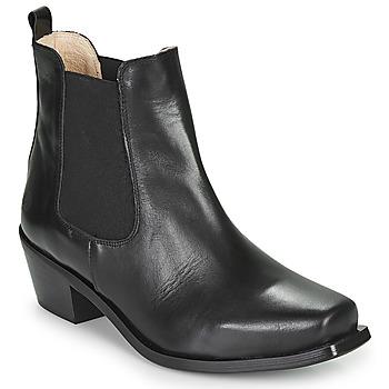 Pantofi Femei Botine Betty London MERKATO Negru